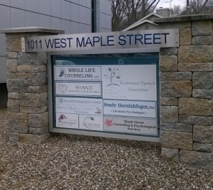 1011 W Maple Street Sign